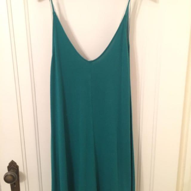 Green Wilfred Free Mini Dress