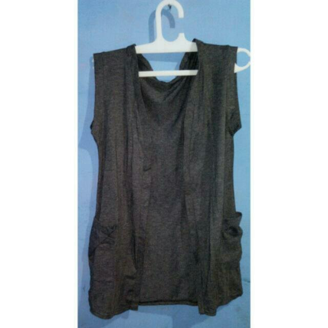 Grey Spandex Outer