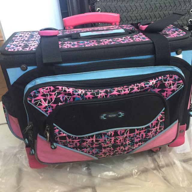 Hawk 6 Wheeler Bag For School (pick Up Only)