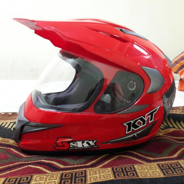 Helm Kyt FullFace Motor Di Carousell