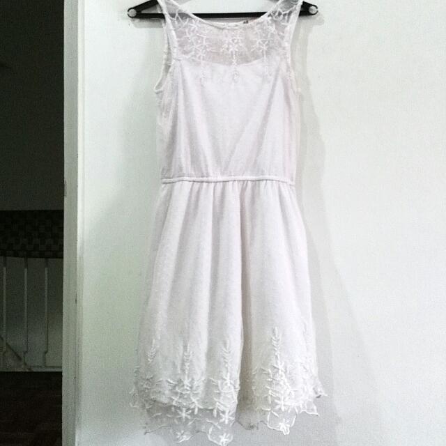 H&M Lace Crochet Dress