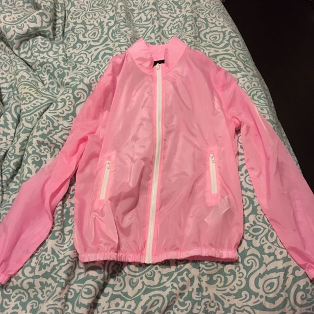 Hot Pink Rain Jacket!