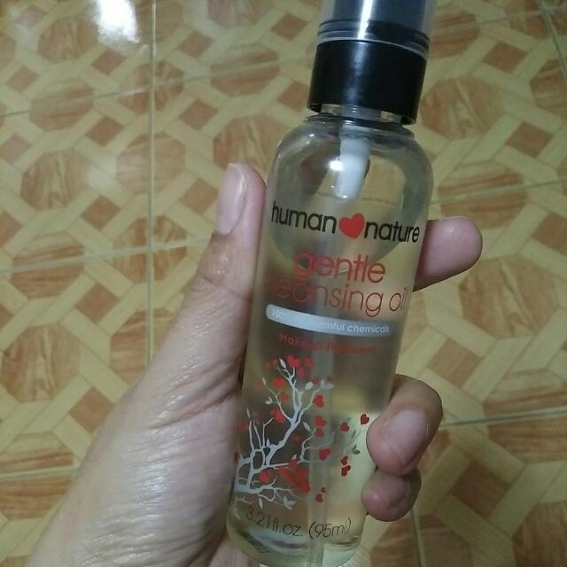 Human Nature Gentle Cleansing Oil