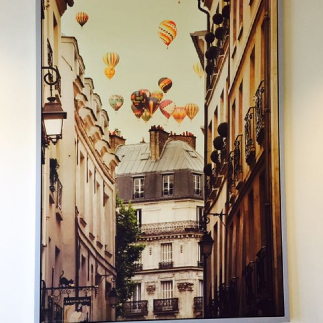 IKEA hot air balloon lot painting