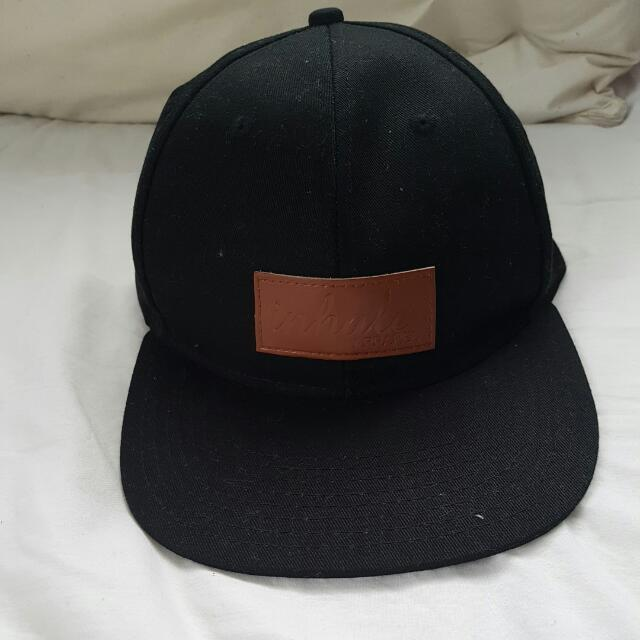 Inhale Strap Back Cap, One Size Fits All
