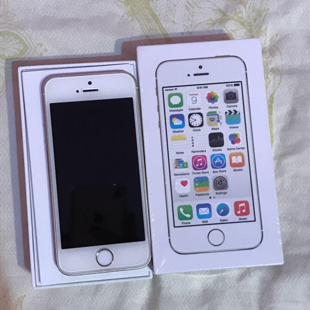 iPhone 5S 16G 香檳金