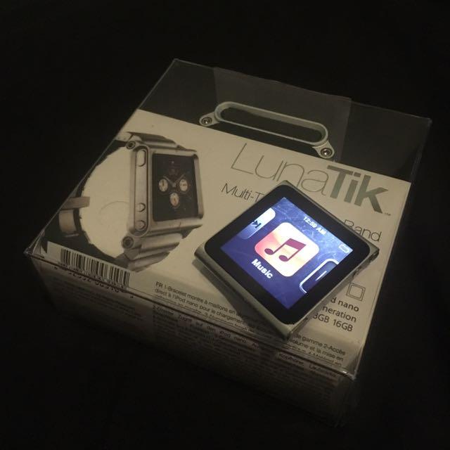 iPod Nano + LunaTik Watch band
