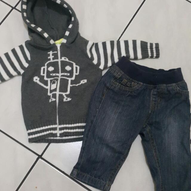 Jacket Eyka & Jeans Mothercare (Buy 2 For 95000)