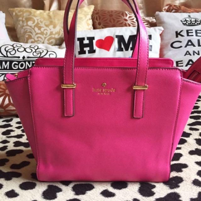 Katespade Hayden In Hot Pink
