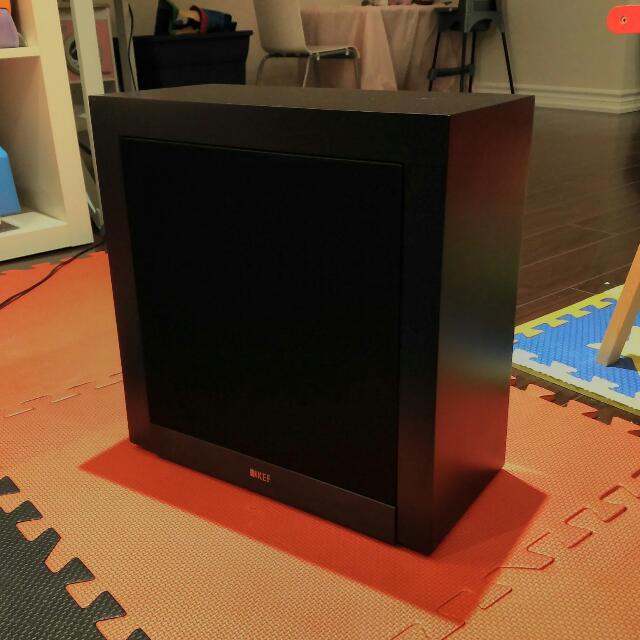 Kef T2 Subwoofer (black)