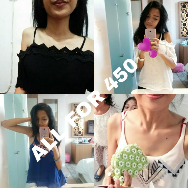 Lacey top and Offshoulders