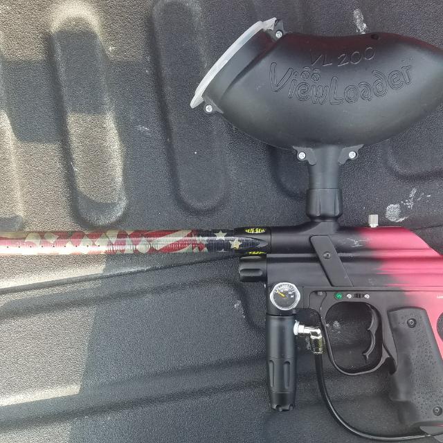 Lasoya Paintball Gun