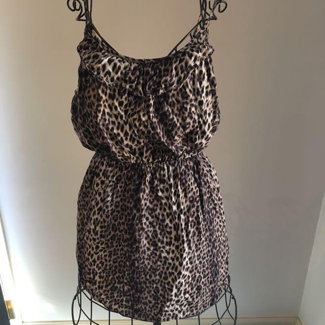 Factorie Leopard Print Dress