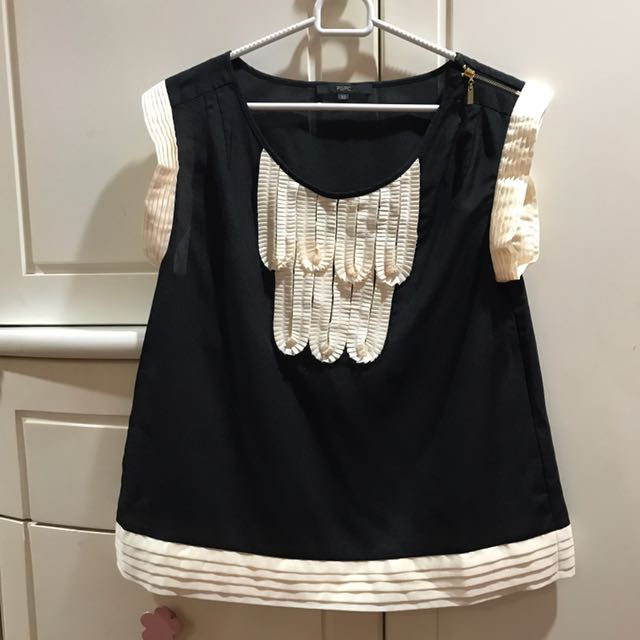 LIKE NEW Blouse Import Black