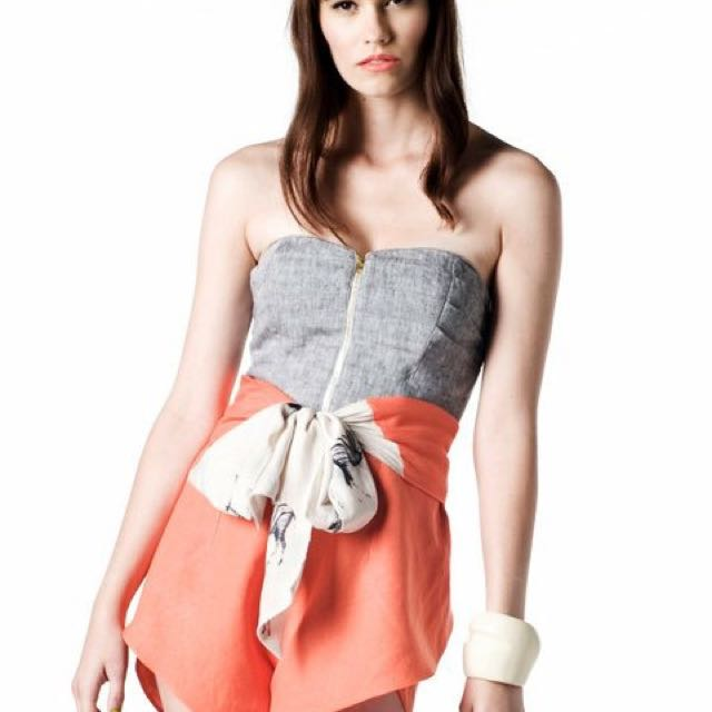 Lilyhart bustier and skirt outfit
