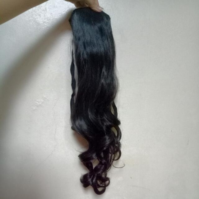 Long Curly Hair Extension