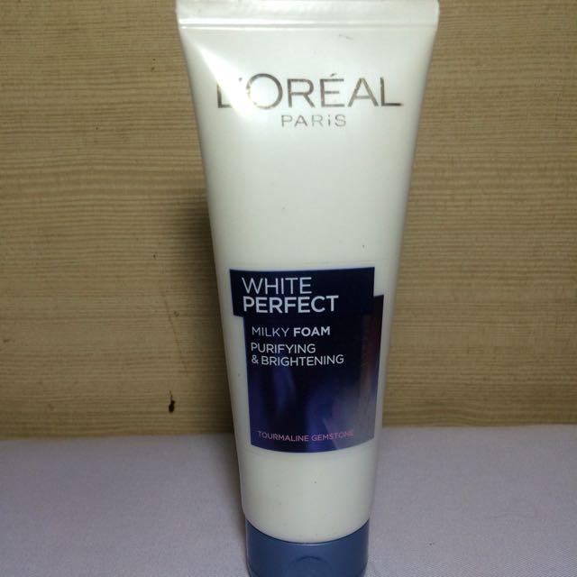 Loreal White Perfect Milky Foam