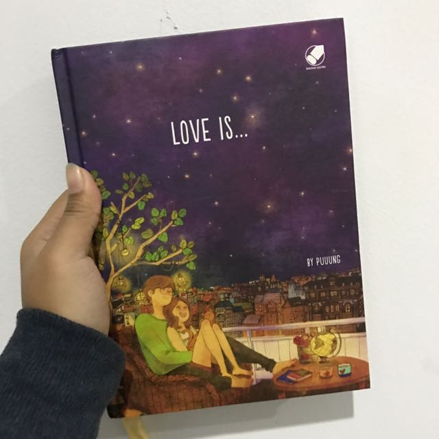 LOVE IS book by puuung