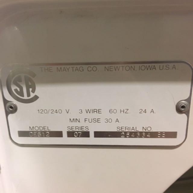 Maytag Heavy Duty Dryer