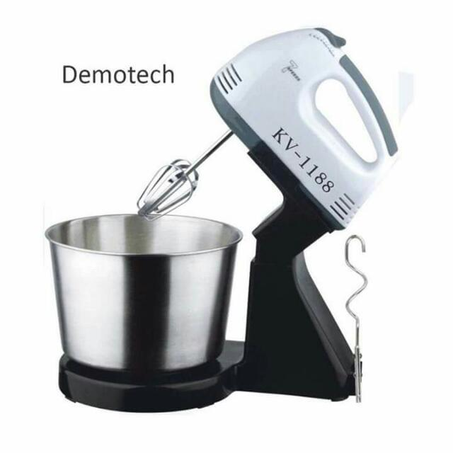 Mixer With Stainless Bowl