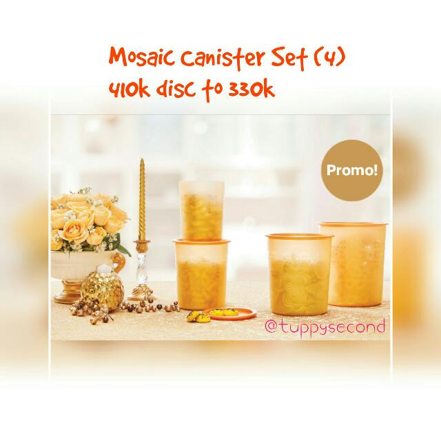 Mosaic Canister Set