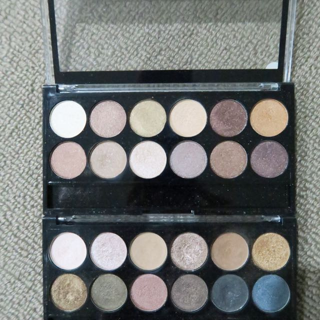 MUA Eyeshadow Palettes