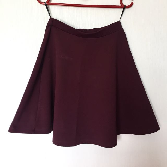 New Look Flare Midi Skirt