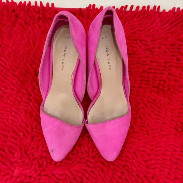 New Look Pink Heels