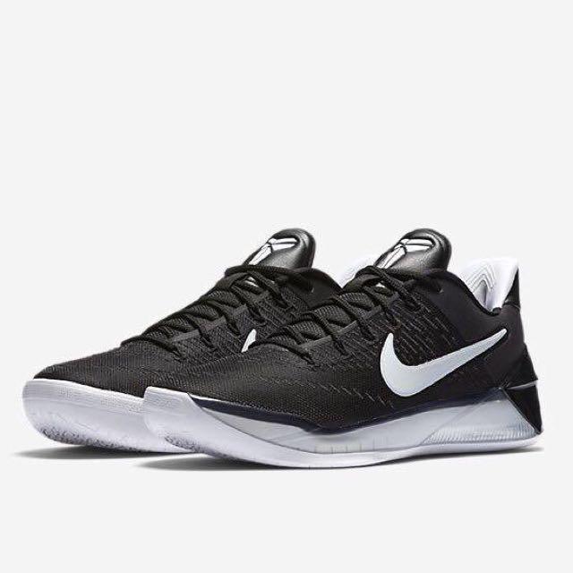 代購NIKE KOBE AD 黑白 BLACK籃球鞋 定價:5400 特價:4600!!! 尺寸:us-9-11號,鞋量有限,欲購從速,一律先匯款後出貨