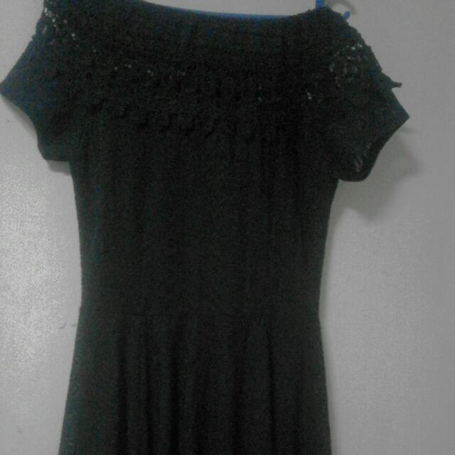 Off Shoulder Lacey Dress