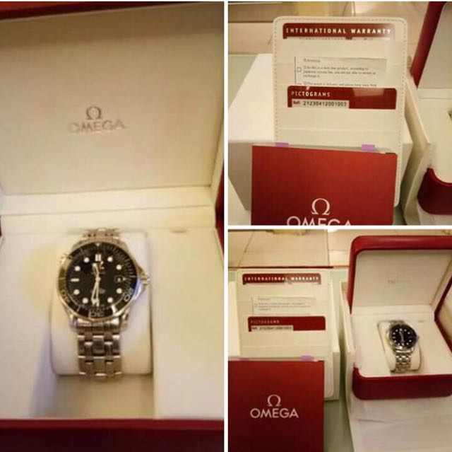 Omega Watch Silver Stone