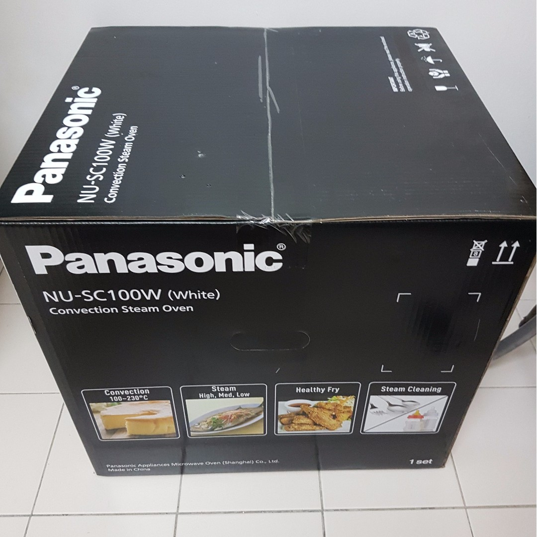 Panasonic Cubie Steam Convection Oven NU SC100W Kitchen Appliances On Carousell