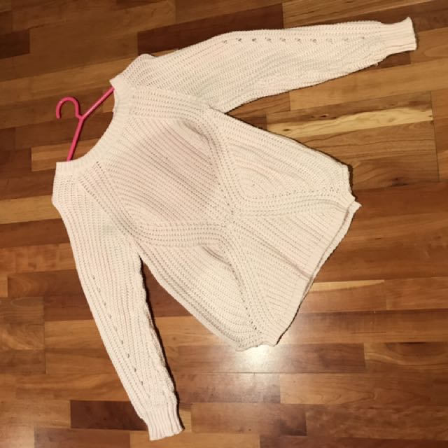 Peppermayo Pink Knit Jumper