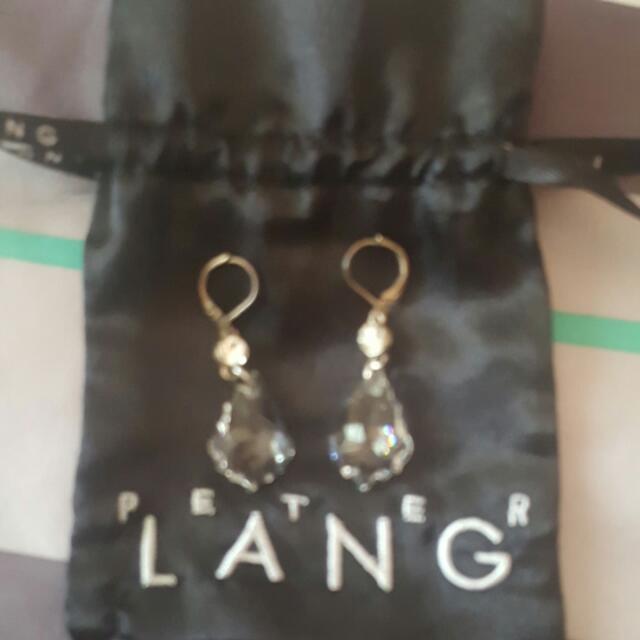Peter Lang Swarovski Crystal Earrings