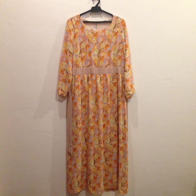 POPLOOK FLORAL DRESS
