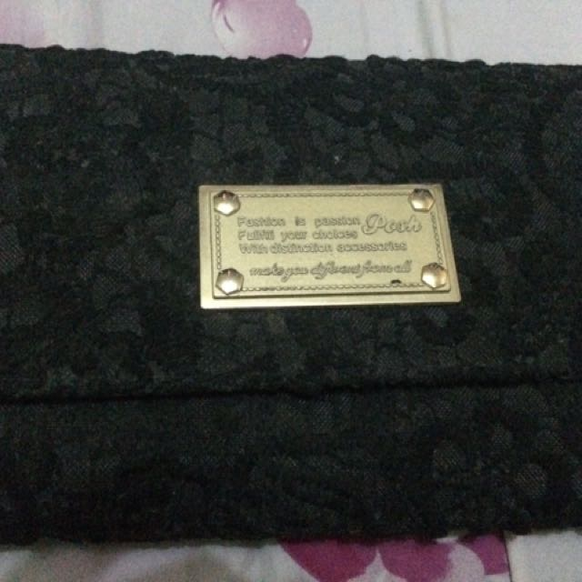 Posh brand wallet/purse/packable