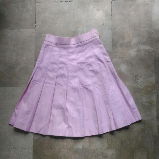 Powder Pink Badminton Skirt