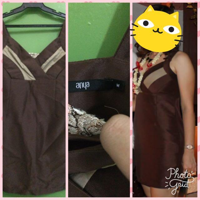 Preloved Brown Dress