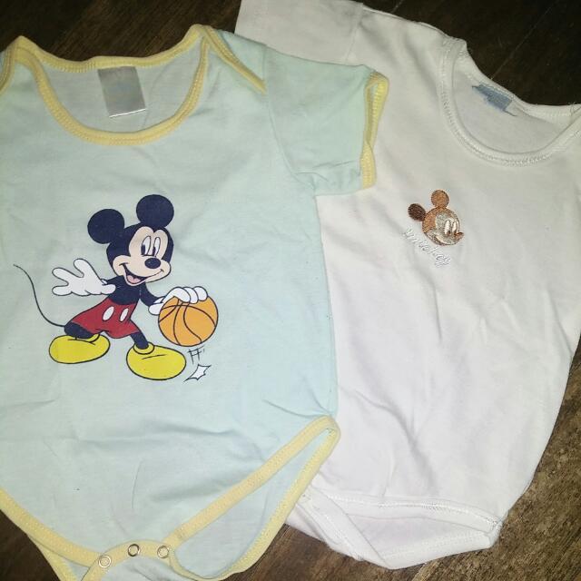 Pre-loved Disney Baby Onsies