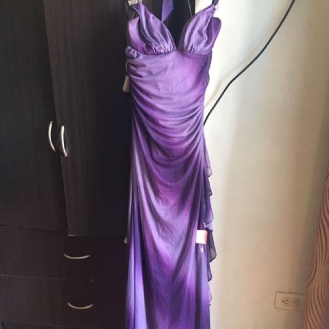 Purple Formal/prom Dress