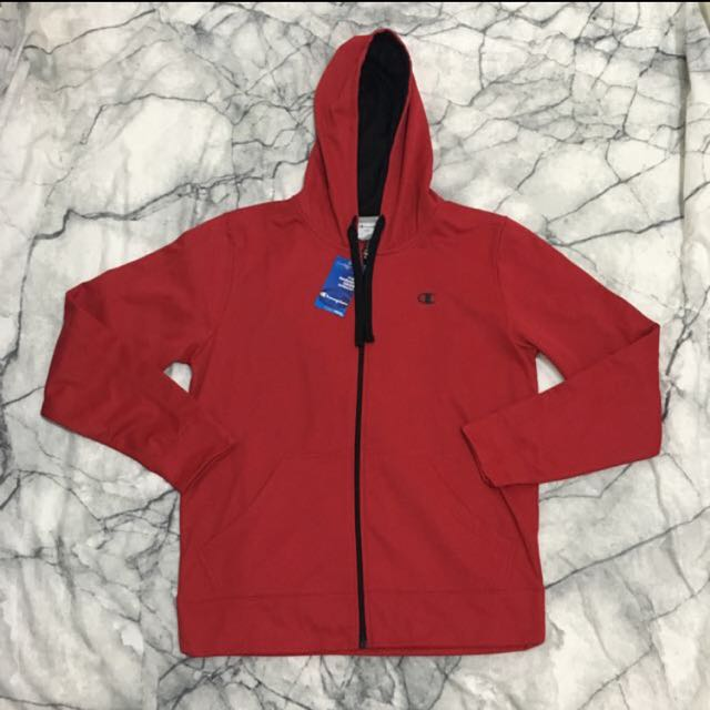 Red Champion Jacket