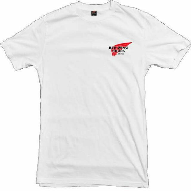 Red Wing T Shirt Ver 2 Men S Fashion Clothes On Carousell