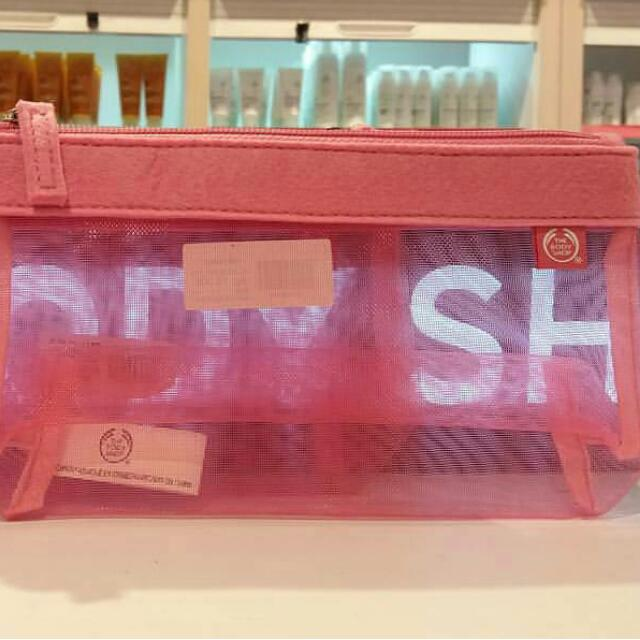 Sale The Body Shop Pouch Pink and Purple