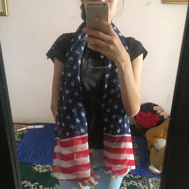scraft american flag