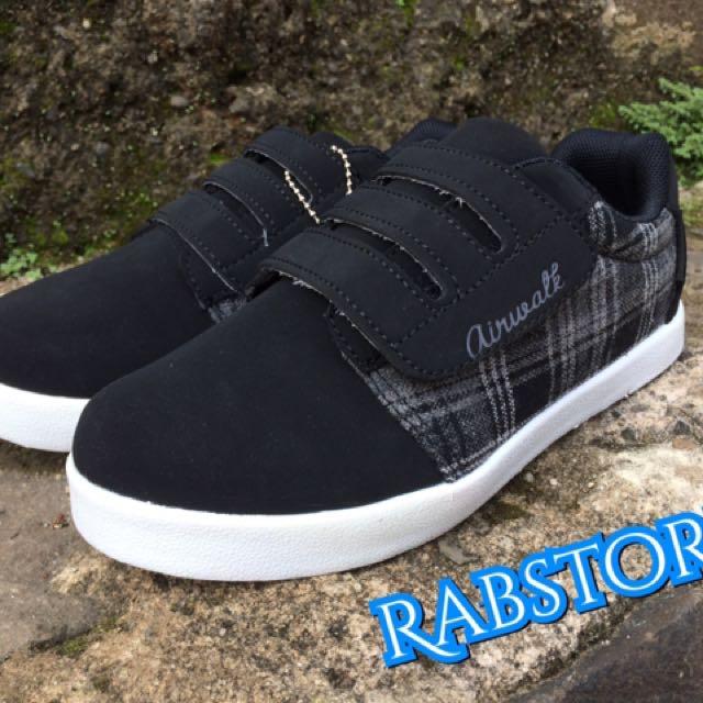 Sepatu Airwalk Original Hezel Black