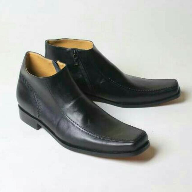 Sepatu Kulit Boots Flavio Venesia