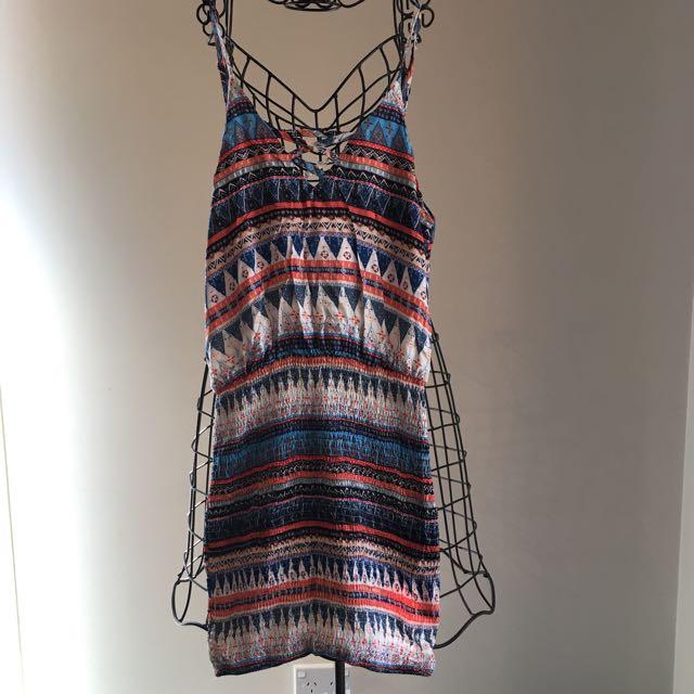 Showpo Dress With Stretching Bottom