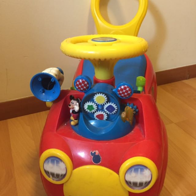 Small Chair + Mickeys Baby Car