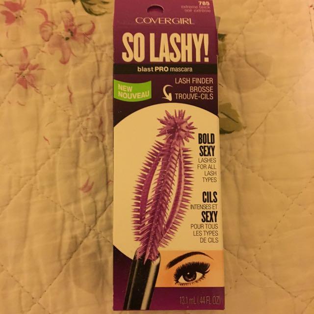 So Lashy! Covergirl mascara