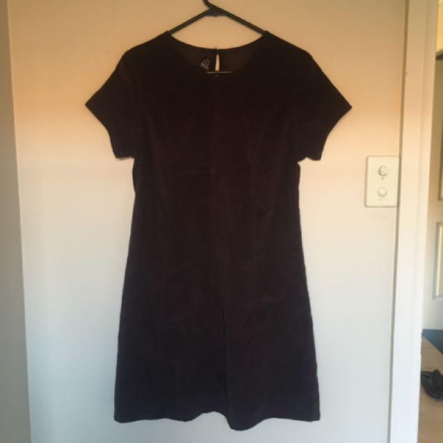 Suede Dress Vintage